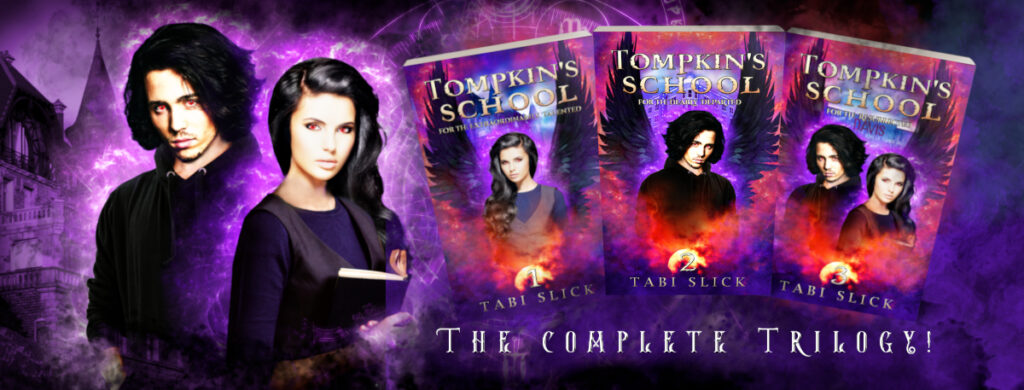 A Supernatural Academy Trilogy